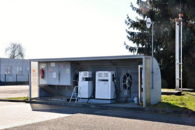 Pro doplnění leteckého paliva na letišti v Benešově slouží námi provozovaná čerpací stanice
