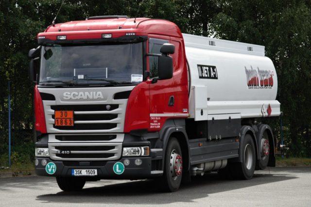 Cisterna TWINTRANS Scania R410