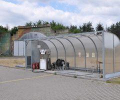 Letištní čerpací stanice v Hradci Králové