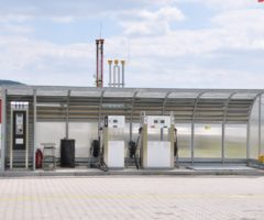 Letištní čerpací stanice v Mladé Boleslavi